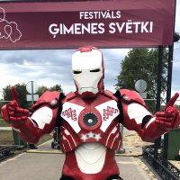 Фестивали с роботом